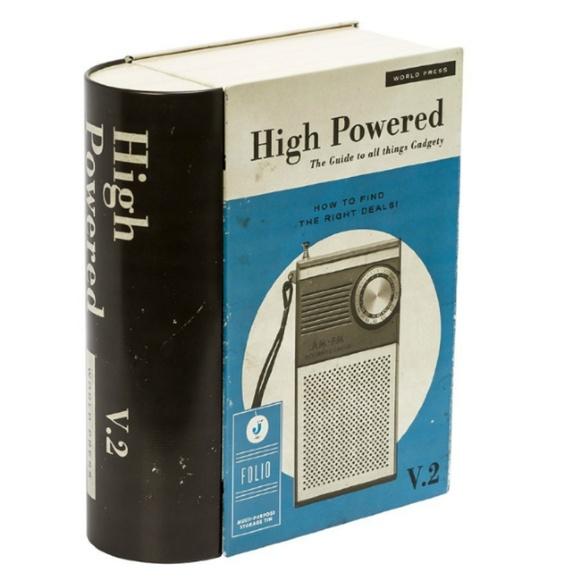 Other - Gadget Book Storage Tin